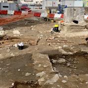 Les squelettes d'un cimetière médiéval retrouvés en plein cœur de Limoges