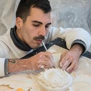 Tristan-Paul Guépin, la pandémie a transformé ce sculpteur en artisan du BTP
