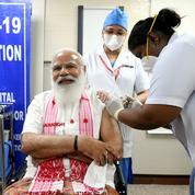 Inde : Modi vacciné contre le Covid-19