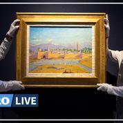 Adjugée à plus de 8 millions d'euros, une toile de Churchill pulvérise les estimations à Londres