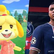 Animal Crossing ,Fifa 21 ... Découvrez les vingt jeux vidéo les plus vendus en France en 2020