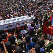 Birmanie : balles réelles contre les manifestants, trois blessés dans un état critique