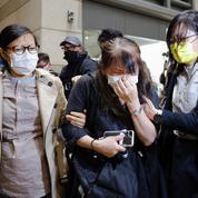 Hongkong : des dizaines de militants pro-démocratie emprisonnés par la justice