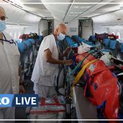 Covid-19 : première évacuation sanitaire de La Réunion vers la métropole