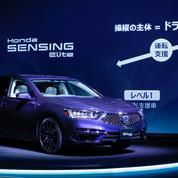 Honda commercialise la première voiture au monde dotée de fonctions autonomes avancées