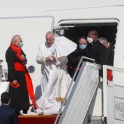 Le pape François a atterri à Bagdad