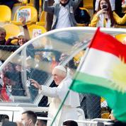À Erbil, en Irak, le pape demande aux chrétiens de ne pas tomber dans « le piège de la vengeance »