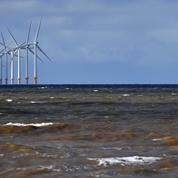 Début des travaux de raccordement du parc éolien marin du Calvados.