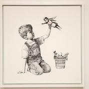Une œuvre de Banksy aux enchères au profit du service de santé britannique