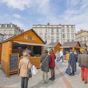 À Limoges, des restaurateurs installés dans les chalets du marché de Noël pour faire de la vente à emporter