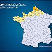 Météo : forts coups de vent attendus dans le Nord et la Loire ce samedi