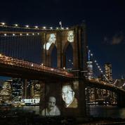 New York : un mémorial pour commémorer les décès Covid de mars 2020