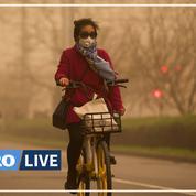 Tempête de sable et pollution : cocktail suffocant à Pékin