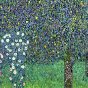 La France va restituer Rosiers sous les arbres, toile de Klimt, spoliée en 1938 en Autriche