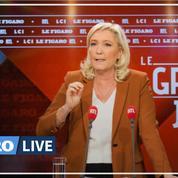 Présidentielle 2022 : soutenue par L'Avenir Français, Marine Le Pen prône «l'esprit de rassemblement»