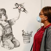 Un Banksy vendu à prix d'or pour venir en aide aux services de santé britanniques