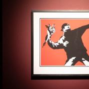 Une galerie bruxelloise mise sur Banksy pour son inauguration en pleine pandémie