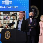 La footballeuse Megan Rapinoe porte à Washington la bataille pour l'égalité salariale