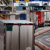 Les routiers dispensés de test entre le Royaume-Uni et la France