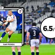 Les notes de France-Ecosse : Fickou, Penaud et Alldritt surnagent