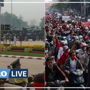 Birmanie : l'armée défile tandis que l'opposition compte ses morts