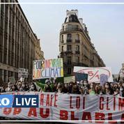 Loi climat : 110.000 manifestants dans la rue contre le texte du gouvernement, selon les organisateurs