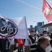 GE Belfort : les salariés de la branche nucléaire manifestent contre la suppression de 238 emplois