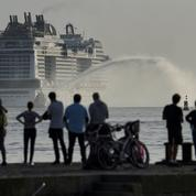 Le nouveau paquebot géant MSC Virtuosa a quitté les Chantiers de l'Atlantique