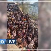 Covid-19 : des centaines de fêtards rassemblés à Lyon, la police a ordre de ne pas intervenir