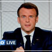 Reconfinement: près de 31 millions de Français devant l'allocution d'Emmanuel Macron à la télévision hier soir
