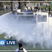 Polémique après l'intervention musclée de la police lors d'un rassemblement interdit à Bruxelles