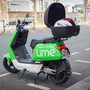 Lime se met au scooter