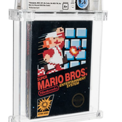 Super Mario Bros: une cartouche neuve vendue 560.000 euros aux enchères