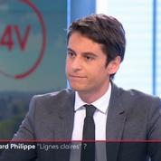 Gabriel Attal assure qu'Édouard Philippe «reste un pilier de la majorité présidentielle»