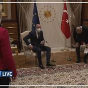 L'affront subi par Ursula von der Leyen à Ankara fait polémique