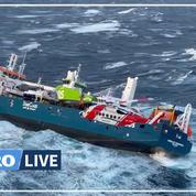 Un cargo néerlandais dérive, sans équipage ni moteur, en mer de Norvège