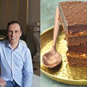 Christophe Michalak a créé un gâteau de voyage pour la Maison du Chocolat