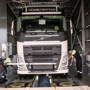 Volvo Group va lancer des camions en acier décarboné, une première