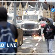 Irlande du Nord : nouveaux heurts malgré les appels au calme de Londres et Dublin