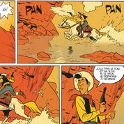 Matthieu Bonhomme poursuit son exploration de la face cachée de Lucky Luke