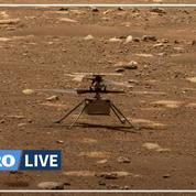 Mars: le vol de l'hélicoptère Ingenuity retardé après un problème technique