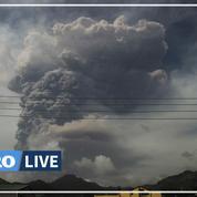 À Saint-Vincent, de nouvelles explosions après l'éruption du volcan de la Soufrière
