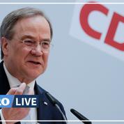 Allemagne : la direction de la CDU soutient Armin Laschet pour briguer la succession d'Angela Merkel