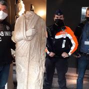 L'Italie récupère en Belgique une statue antique volée il y a dix ans