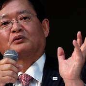 Le directeur général de Toshiba, Nobuaki Kurumatani, a demissionné