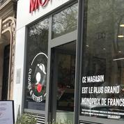 Monoprix lance à Paris un nouveau concept pour retirer les commandes, à pied ou à vélo