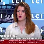 «Je ne pense pas qu'il faille interdire Millî Görüş», estime Marlène Schiappa