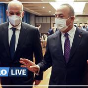 Accrochage verbal entre ministres turc et grec lors d'une conférence de presse à Ankara