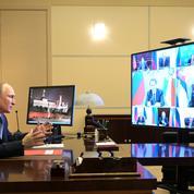 Poutine participera par visioconférence au sommet sur le climat
