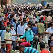 Covid-19 : l'Inde recense près de 315.000 nouveaux cas en 24 heures, un record mondial